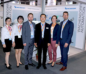 IAS China Robert Wachendorff and employees