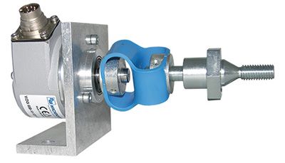 Mounting kit with shaft encoder